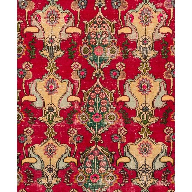 "Apadana - Vintage Persian Tabriz Rug, 8'7"" x 12'5"" - Image 3 of 5"