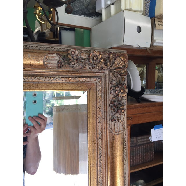 Large Gold Mirror For Sale - Image 12 of 13