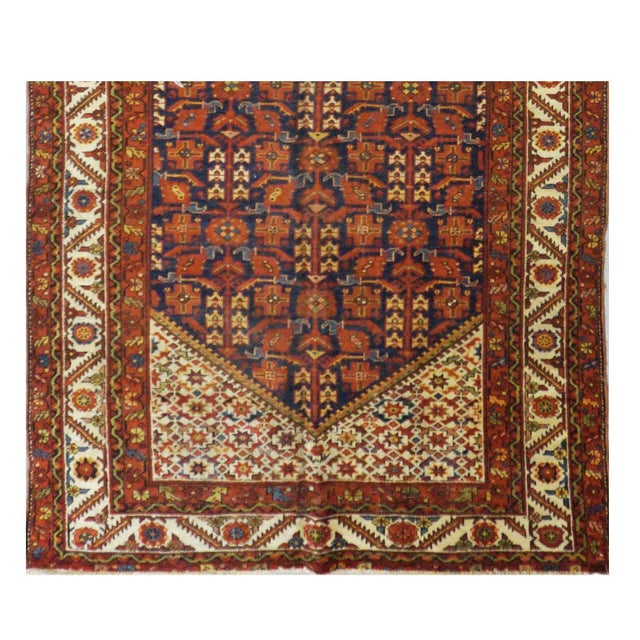 Islamic Antique Persian Malayer Rug - 5′5″ × 16′8″ For Sale - Image 3 of 3