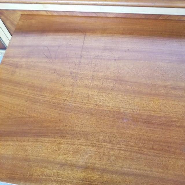 Antique Flint & Horner French Deco Writing Desk/Vanity For Sale - Image 10 of 13