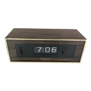Vintage General Electric Flip Clock For Sale