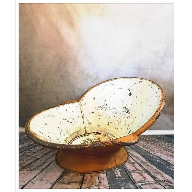 Antique French Zinc Bathtub - Image 2 of 11