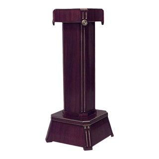 Russian Neoclassic Mahogany Pedestal For Sale
