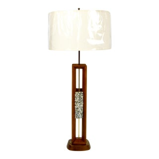 Monumental Modeline Table Lamp For Sale