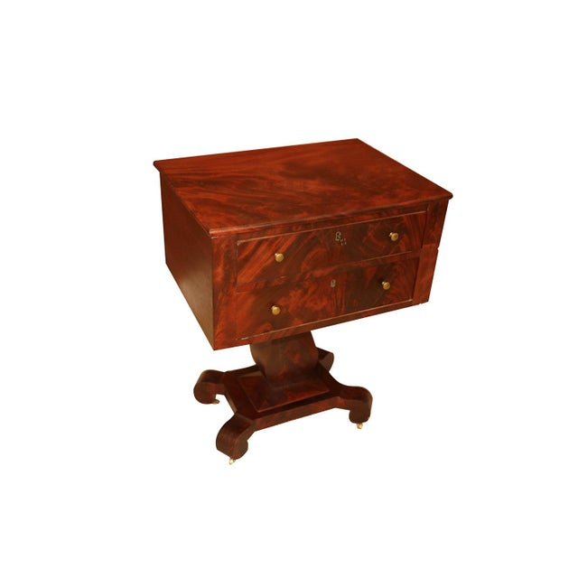 American Empire Style Side Table For Sale - Image 9 of 11