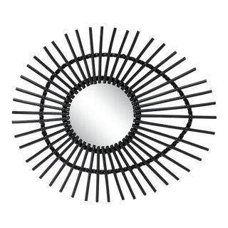 Curated Kravet Elis Mirror - Black For Sale