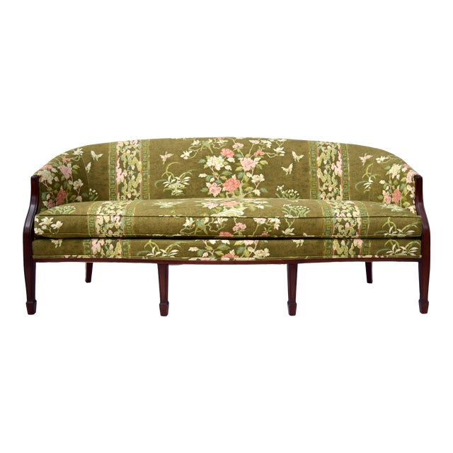 Hickory Chair Federal Hepplewhite Style Sofa For Sale