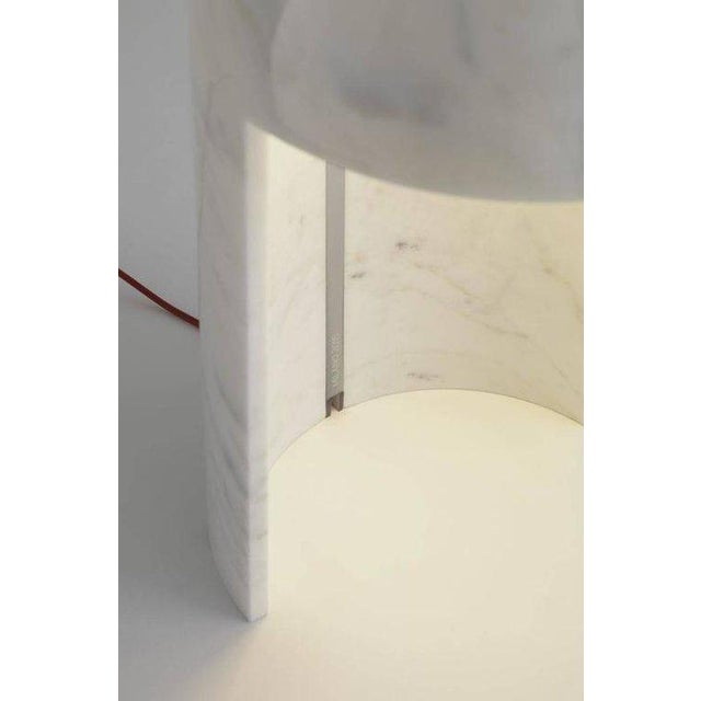 Carlo Colombo \'Milano 2015\' Marble Table Lamp for Fontana Arte ...