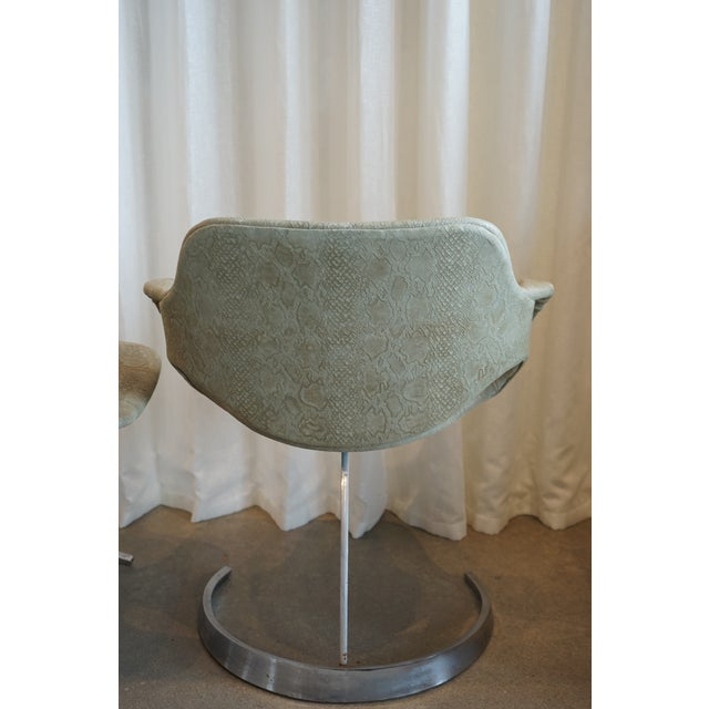 Pair of Vintage Chairs by Boris Tabocoff Chairs For Sale - Image 10 of 12