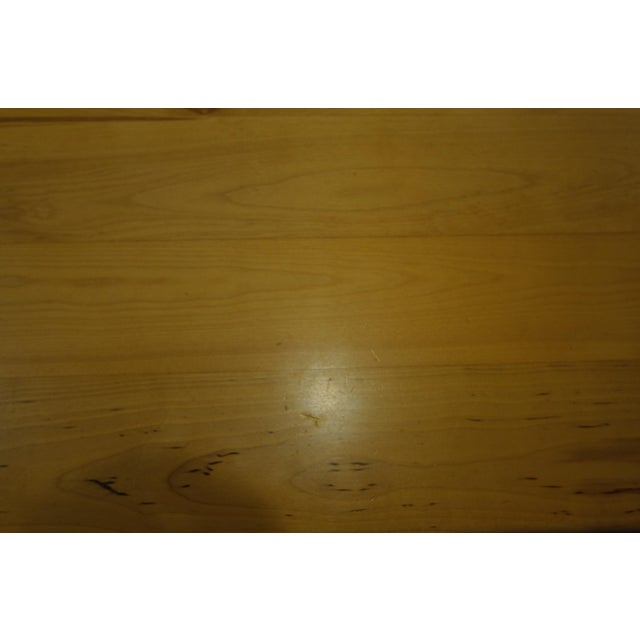 Solid Beech Trestle Table - Image 9 of 9