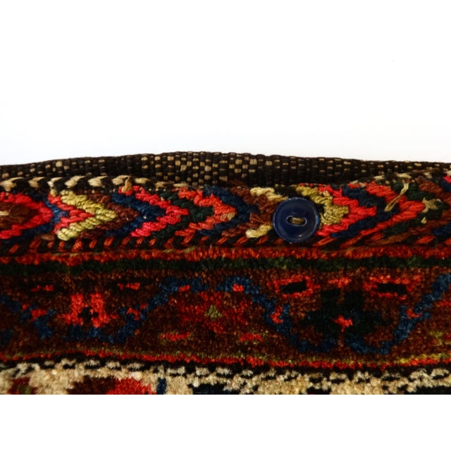 Boho Chic Bakhtiari Tribal Bag, Circa 1920 For Sale - Image 3 of 6