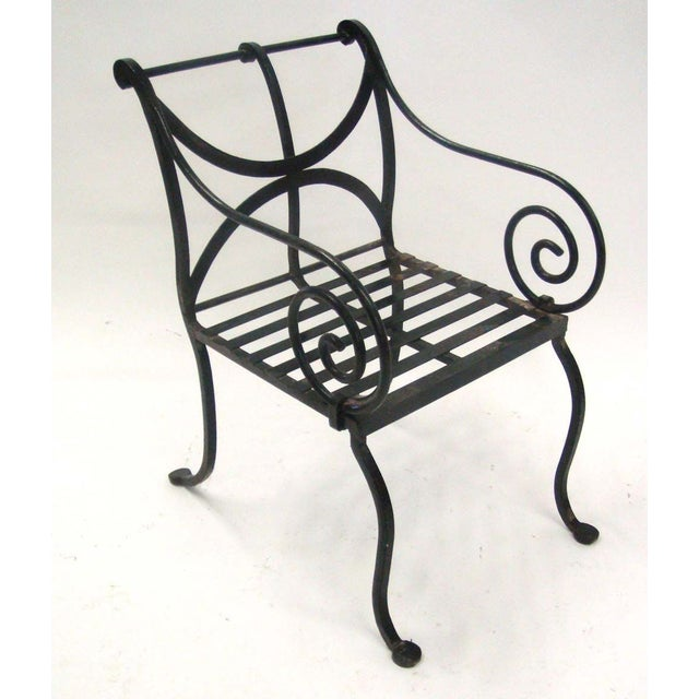1980s Spanish Metal Armchair - Image 2 of 7