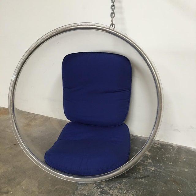 Eero Aarnio Eero Aarnio Plushpod Hanging Bubble Chair For Sale - Image 4 of 8