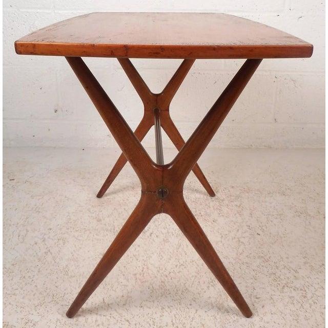 Mid-Century Modern Teak End Table - Image 5 of 11