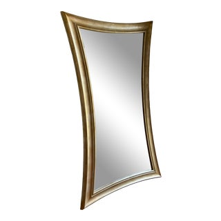 1990s Century Furniture Landscape Mirror For Sale
