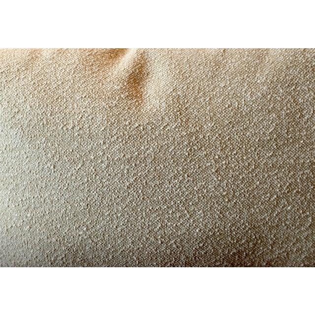Italian Linen Bouclé Lumbar Pillow Covers - A Pair For Sale - Image 4 of 5