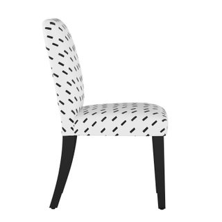 Dining Chair in Charcoal Dash White Oga Preview