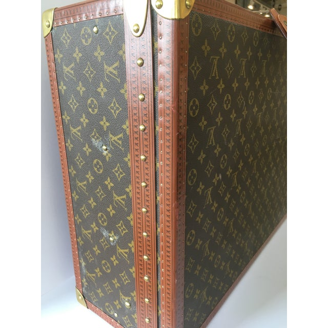 Late 20th Century Louis Vuitton Hardside Luggage Piece For Sale - Image 5 of 9