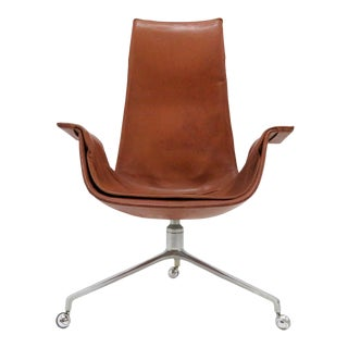 1960s Vintage Preben Fabricius Jorgen Kastholm Bird Chair For Sale
