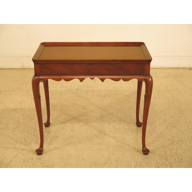 Kittinger Colonial Williamsburg Mahogany Tea Table - Image 11 of 11