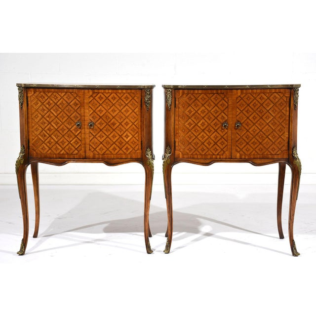French Louis XVI-Style Commodes - A Pair - Image 3 of 10
