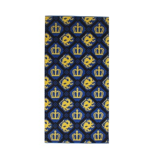 Mid Century Modern Blue Royal Motif Rug - 2′4″ × 4 For Sale