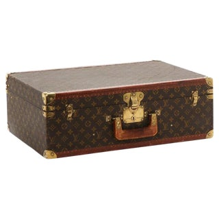 Louis Vuitton Suitcase or Trunk, Monogram Canvas For Sale