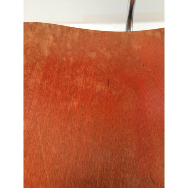 Herman Miller DCM Chair Red Aniline - Image 8 of 11