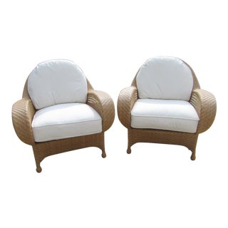 Oscar De La Renta by Century Furniture Accent Chairs - a Pair