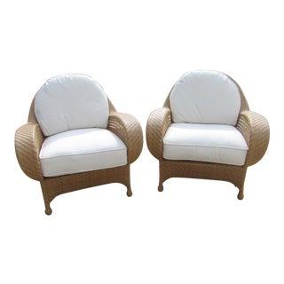 Oscar De La Renta by Century Furniture Accent Chairs - a Pair For Sale