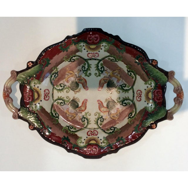 Country French Dish With Display Stand - Image 3 of 5