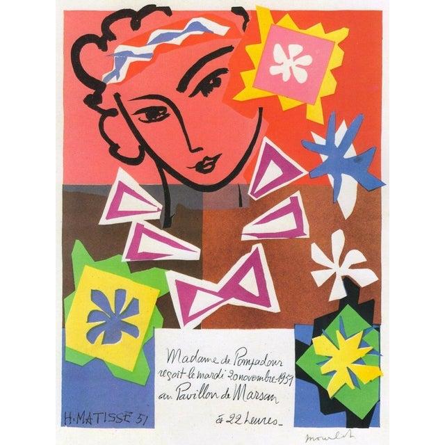 "Henri Matisse Vintage 1989 Lithograph Print "" Bal Arts Decoratifs Mourlot "" 1951 For Sale - Image 9 of 10"