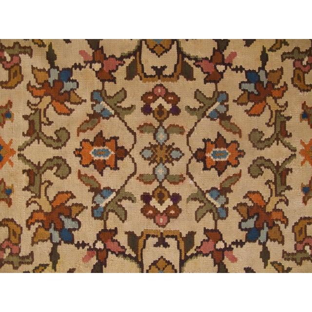 Bessarabian Room-Size Woven Kilim - Image 4 of 10