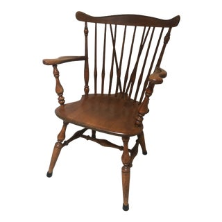 1950s Vintage Baumritter Windsor Chair For Sale