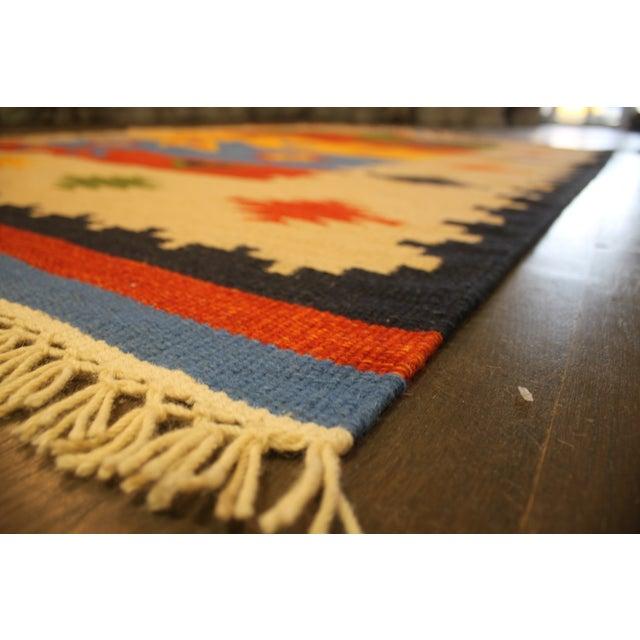 "Apadana - Hand-Knotted Kilim Rug - 5′6″x 8'1"" - Image 2 of 2"