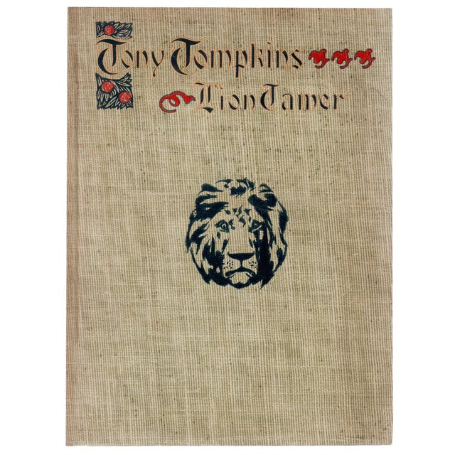 'Tony Tompkins: The Lion Tamer' Book by Harriet Scott Barber - Image 1 of 4