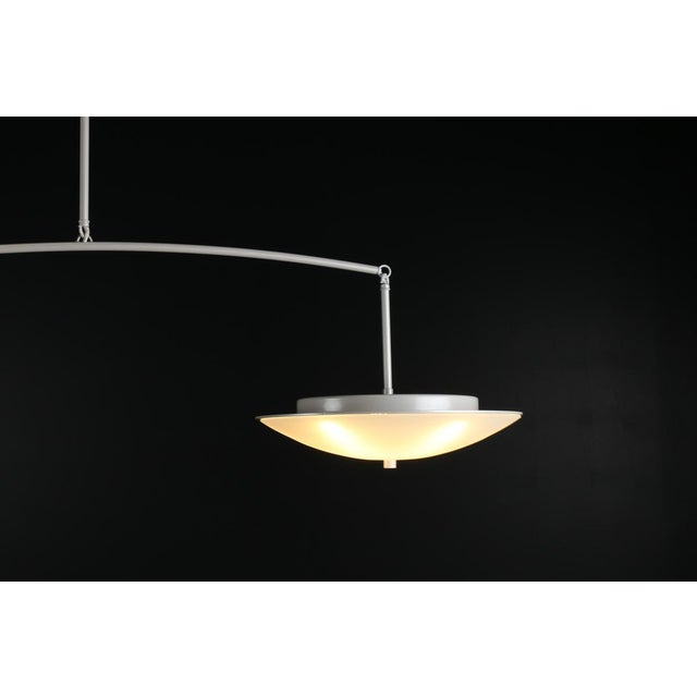 Modern Contemporary Christopher Objects Draftsman No.3 Cantilever Pendant Light by Topher Gent For Sale - Image 3 of 13