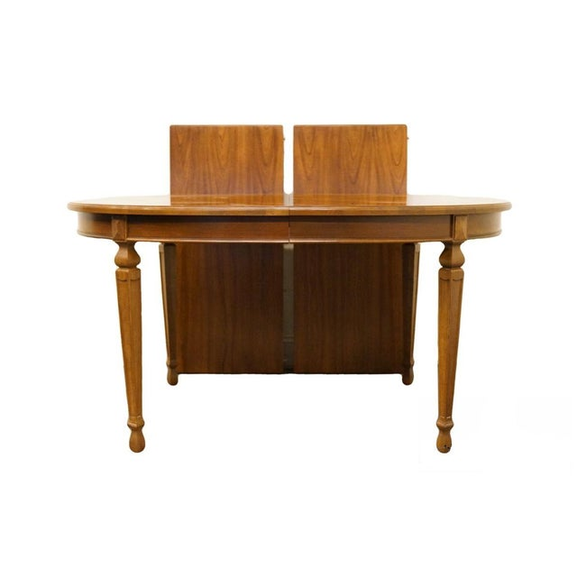 "20th Century Traditional Drexel Ponte Vecchi Collection 92"" Dining Table For Sale - Image 11 of 11"