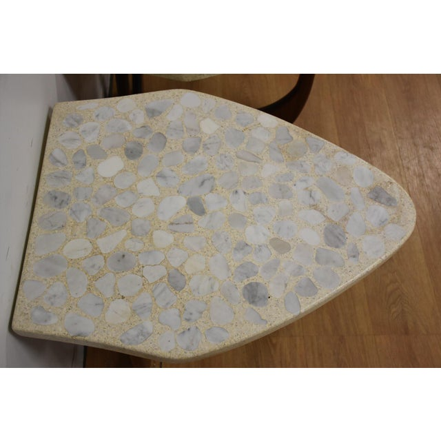 Harvey Probber Terrazzo End Tables - A Pair For Sale - Image 4 of 11