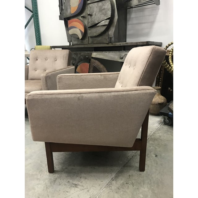 Wood 1970s Vintage Danish Club Chairs- A Pair For Sale - Image 7 of 12