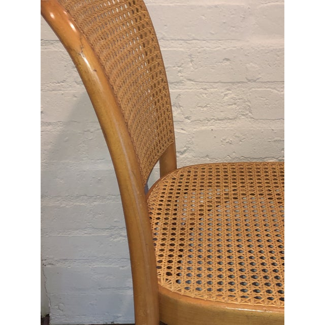 1960s Josef Hoffmann Thonet Prague Side Chairs- a Set of Four For Sale - Image 5 of 11