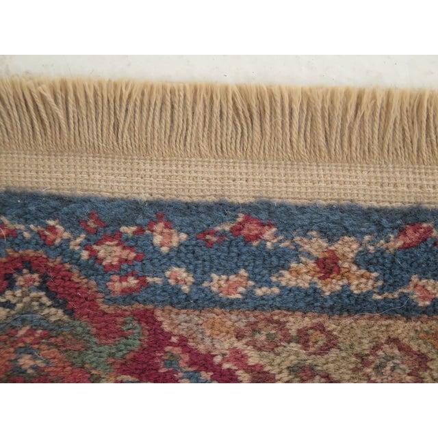 Textile Vintage Karastan Kirman Panel Throw Rug- 2′11″ × 6′ For Sale - Image 7 of 9