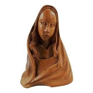 Mid Century Modern Madonna Sculpture