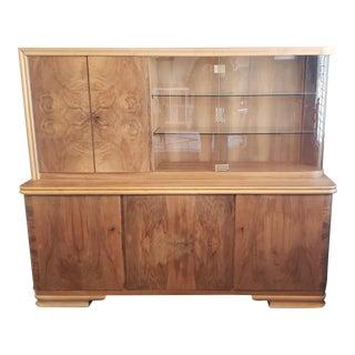 Custom Grosselfingen Sideboard and Hutch For Sale