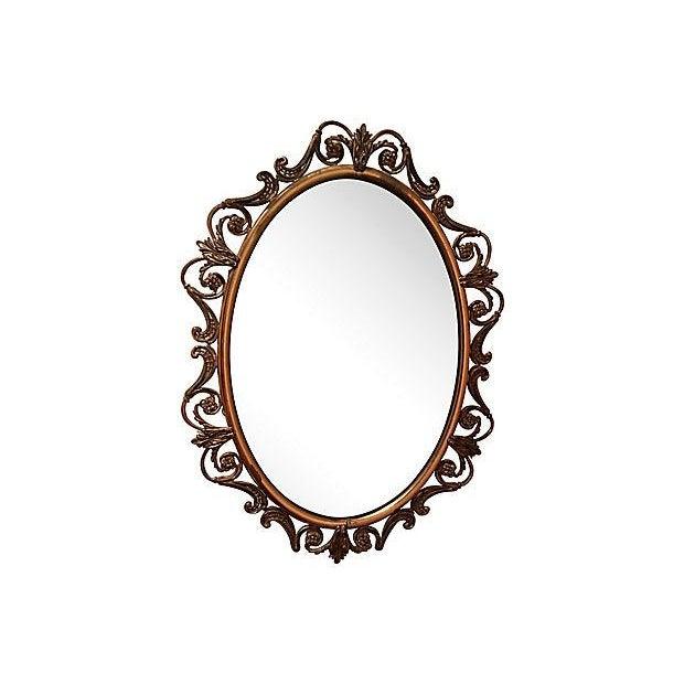 Brass Convex Mirror - Image 6 of 8