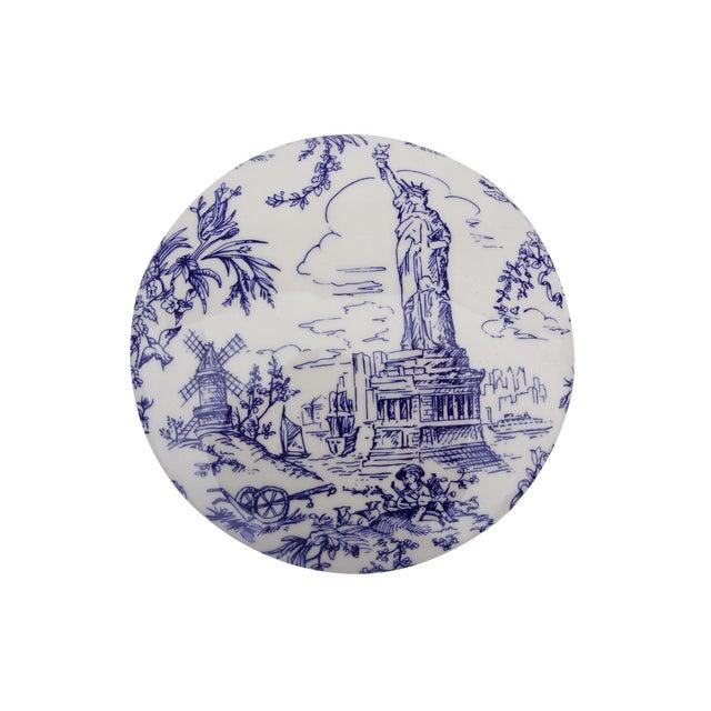 Tiffany & Co. Blue & White Lidded Trinket Bowl - Image 2 of 7