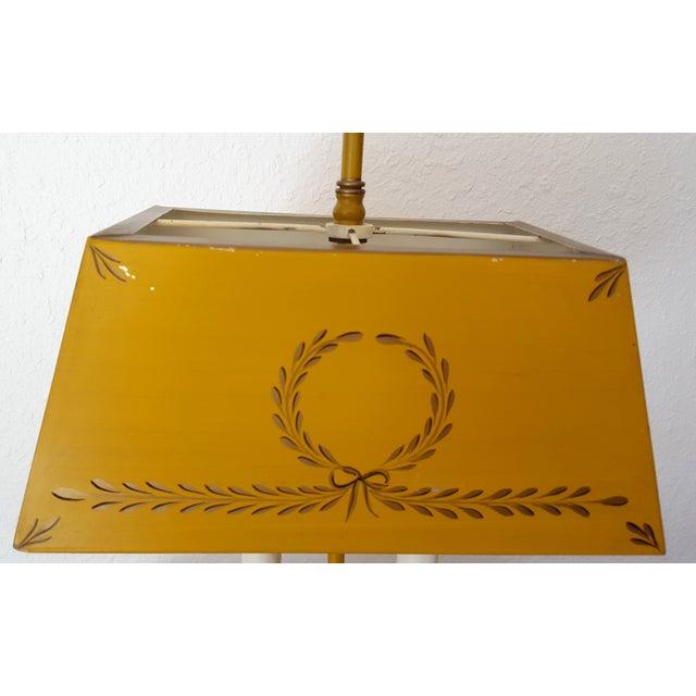 Golden Tole Desk Lamp - Image 5 of 6