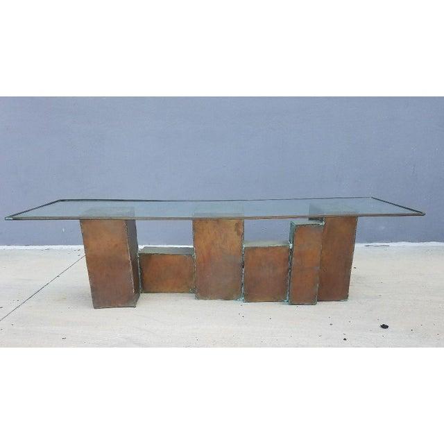 1970's Vintage David Marshall Brutalist Coffee Table For Sale - Image 11 of 11
