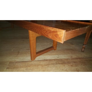 Vintage Mid Century Torbjørn Afdal Norwegian Teak Long Bench Preview