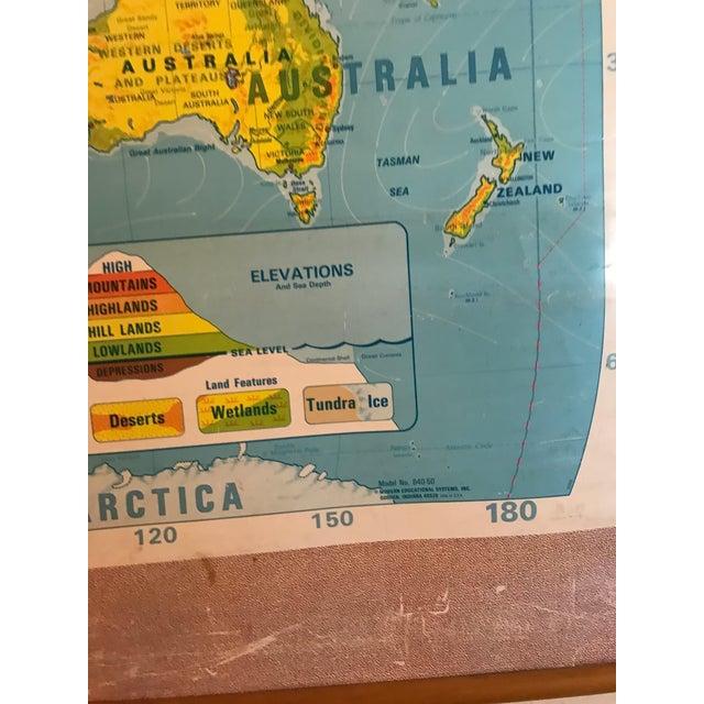 Large School World Map - Image 4 of 6
